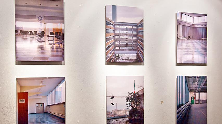 Kunststudent René Radomsky stellt analoge Bilder aus.