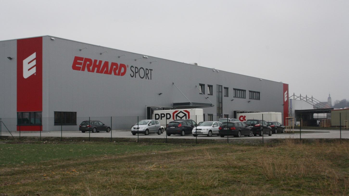 Das neue Logistikzentrum in Burgbernheim wurde erst im vergangenen Jahr fertiggestellt.