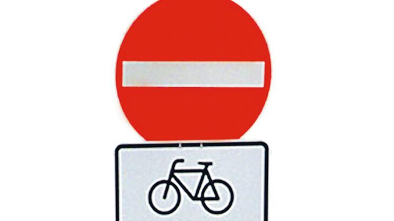 Nur Einbahnstraßen mit dem Zusatzzeichen