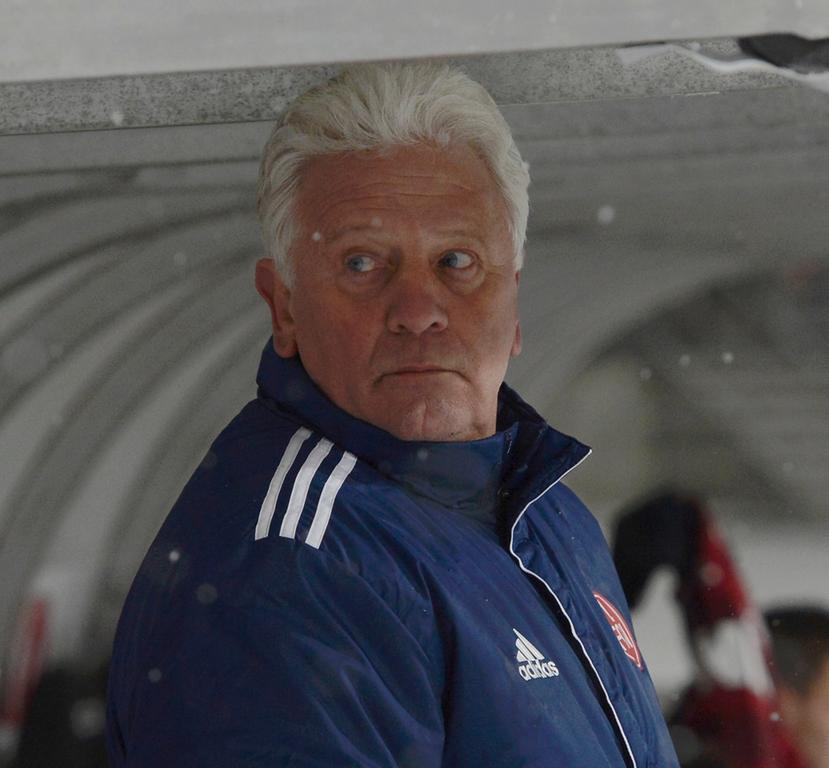 Club-Trainer Dieter Nüssing.