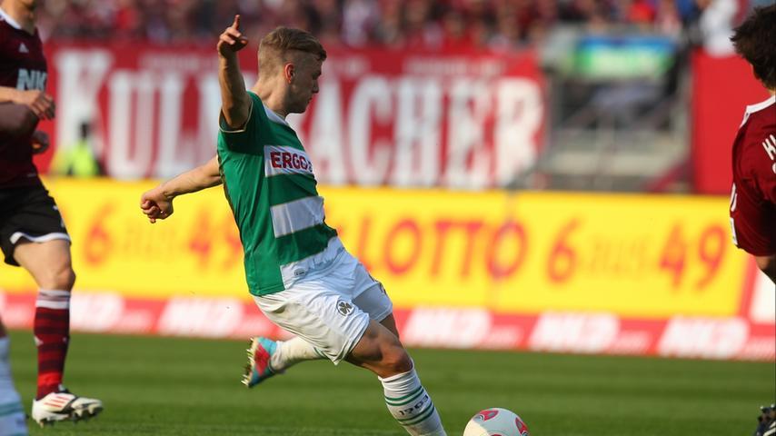 Die Geschichte des Spiels ist schnell erzählt. Das Kleeblatt-Talent Johannes Geis durfte in der 27. Minute dermaßen unbedrängt zum Torschuss ansetzen, dass...