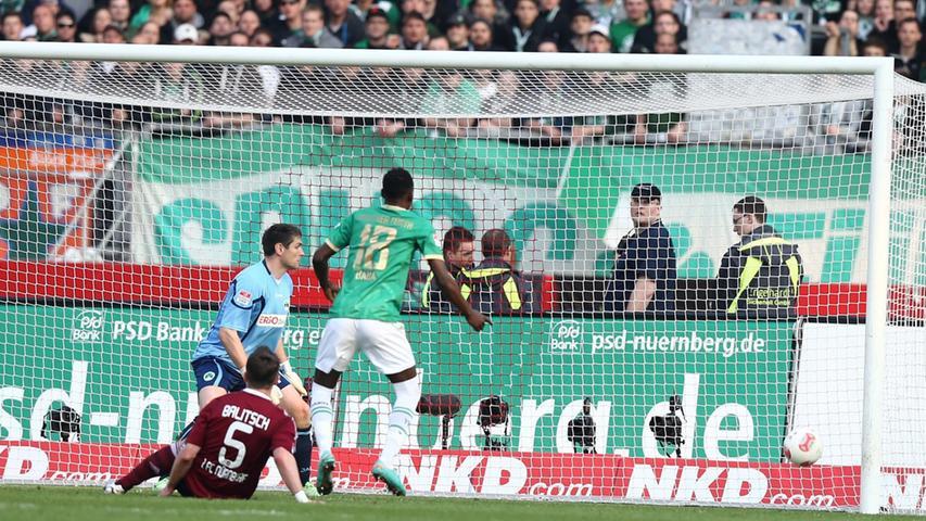 Geis-Hammer verdirbt dem 1. FC Nürnberg das Derby