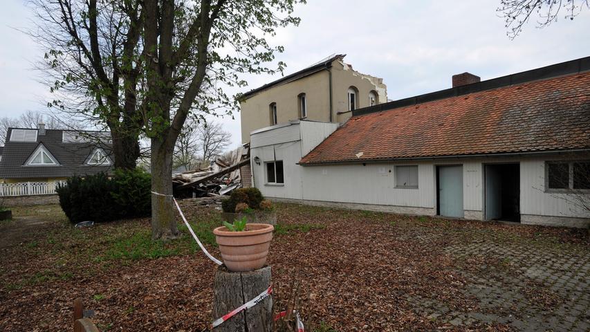 Nach Gasexplosion im Klösterle: Ruine gammelt und stinkt