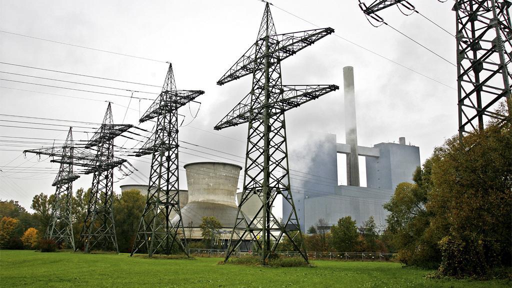 Das Kraftwerk Franken I in Gebersdorf bei Nürnberg.