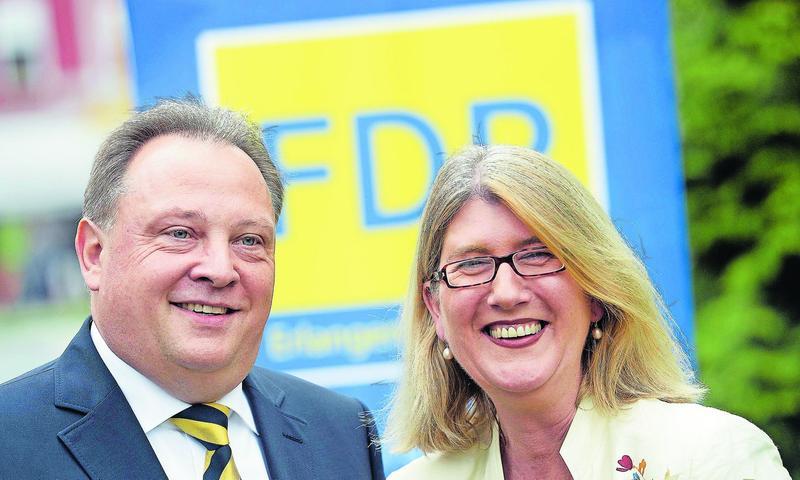 Die 53-jährige Britta Dassler aus Herzogenaurach wurde im Wahlkreis Erlangen in den Bundestag gewählt. (Klicken Sie hier für mehr Infos zu Britta Dassler)