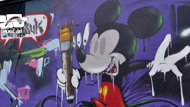 WOW123 wird auch am Start sein beim Mural Art Nbg.