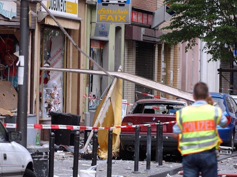 Der der Terrorzelle Nationalsozialistischer Untergrund (NSU) zugeschriebene Anschlag in der Kölner Keupstraße bleibt Bestandteil des Verfahrens.
