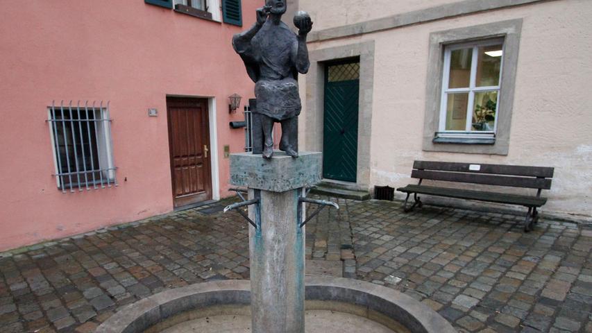Brunnen, Tore, Karpfen: Diese Kunst bereichert Forchheim