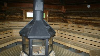 Die Sauna der Therme Obernsees gilt als eine der schönsten in ganz Bayern.