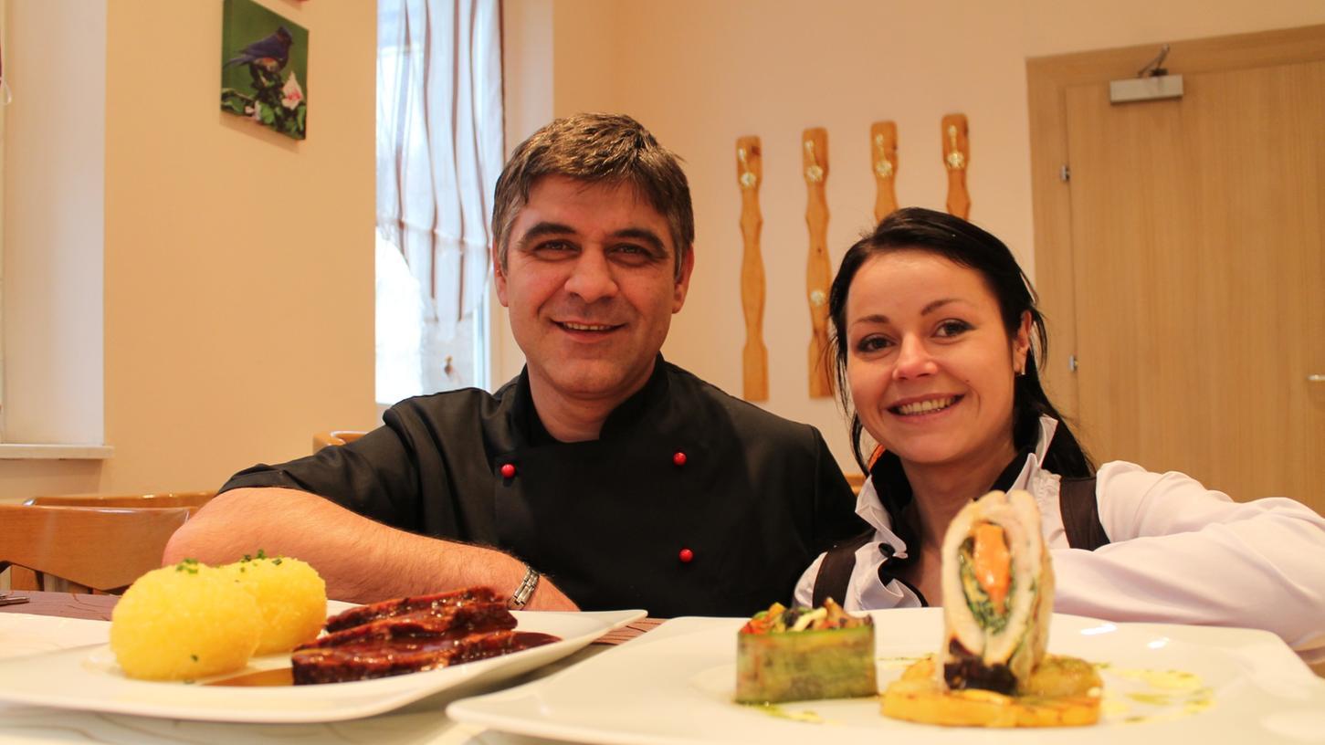 Atanasov und Miglena Jordanova öffnen ihre Türen in der Erlanger Straße.