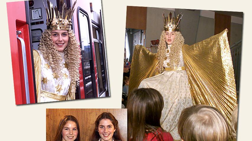 Stephanie Jank (verheiratete Rieder) wurde als Christkind in den Jahren 1999 und 2000 gewählt.