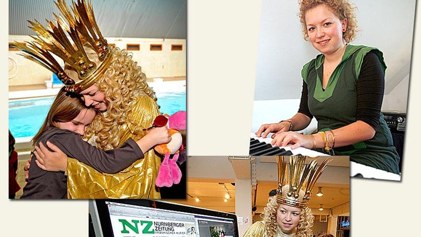 Johanna Heller war das gewählte Christkind der Jahre2009 und 2010.