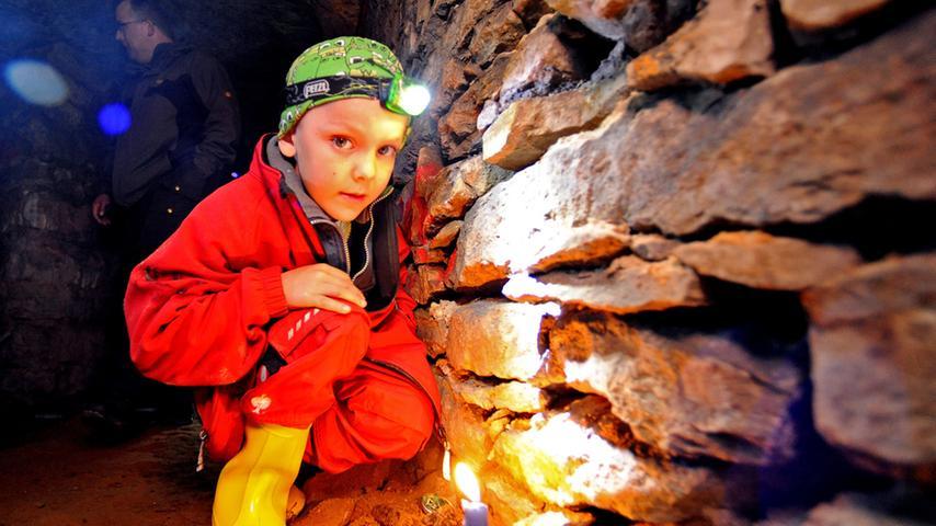 Felsenkeller: Besuch in Egloffsteins Unterwelt