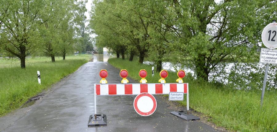 Vorsicht Hochwasser!