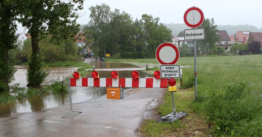 ...es schwer genug war, überhaupt in den Ansbacher Ortsteil zu gelangen.