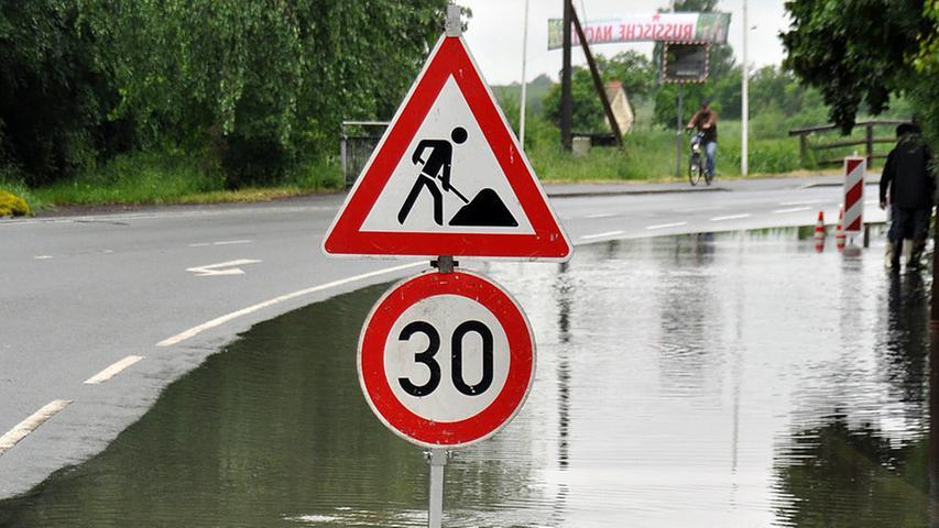Trotz der Fluten...