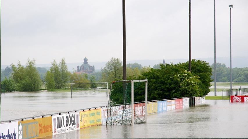 ...Fußballspielen war nicht möglich.