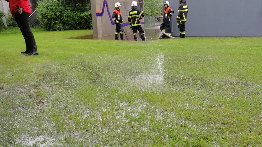 ...von Feuerwehrleuten dominiert.