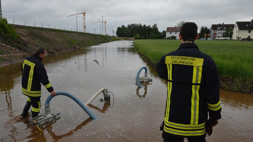 Derzeit sorgt das Hochwasser in vielen Teilen der Region für Probleme.