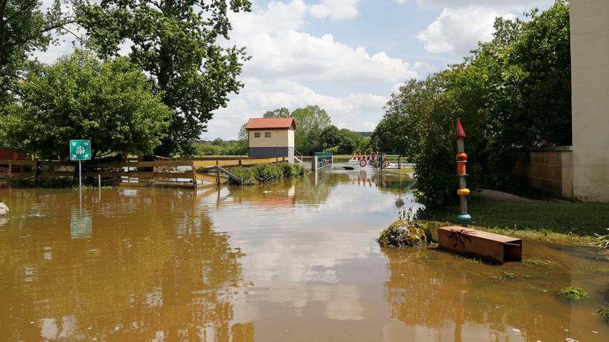 Die Laufer Mühle hat am Wochenende ihr schlimmstes Hochwasser seit Jahrzehnten erlebt.
