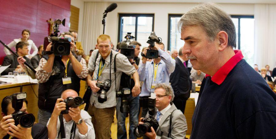 Gustl Mollath scheiterte vor dem Landgericht Regensburg mit seinem Antrag auf Wiederaufnahme des Verfahrens.