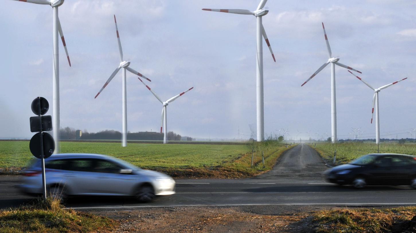 Die Planungen für einen Windpark in Mittelfranken.