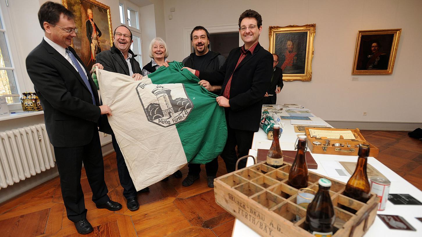 Vor einem halben Jahr wurden dem Stadtarchiv bereits Schätze der Brauereigeschichte übergeben.