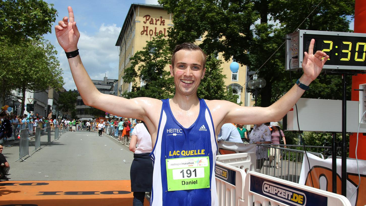 Der Sieger des Metropolmarathons heißt Daniel Höflinger.