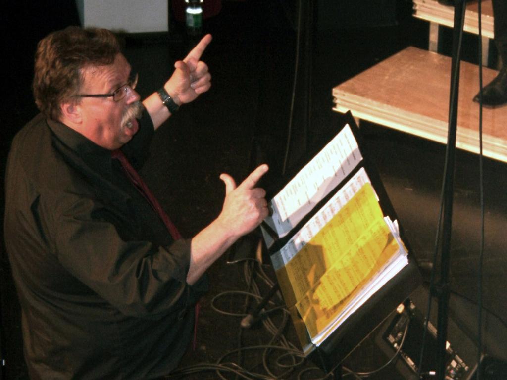 """Feiert nicht nur 20 Jahre """"Choralle"""", sondern auch 50 Jahre Chorleitertätigkeit: Dieter Weidemann, der nicht nur in der Region Chorgeschichte geschrieben hat."""