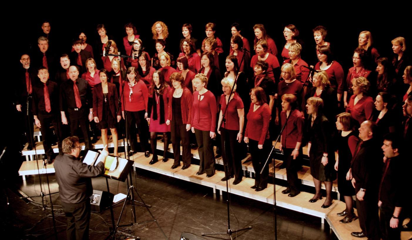 """""""Choralle"""" hat ein Jubiläumskonzert einstudiert, das über weit 1000 Besucher begeistern und ihnen auch einige Überraschungen bieten wird."""
