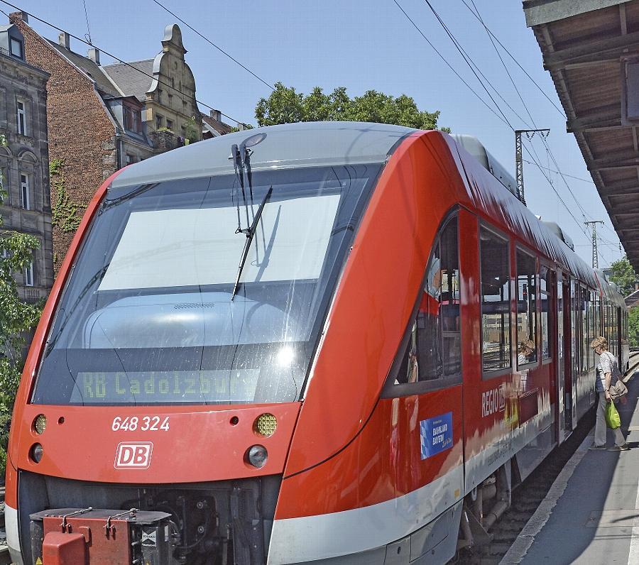Endstation Fürth, Gleis sieben: Der Landkreis fordert auch für die Cadolzburger Rangaubahn die Weiterfahrt zum Nürnberger Hauptbahnhof.