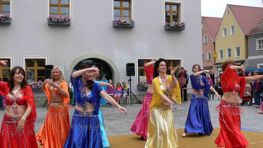 Akrobatik und Stimmung bei der Freynacht in Freystadt