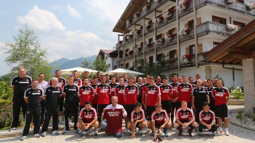 Trainingslager reloaded: Der Club am Chiemsee
