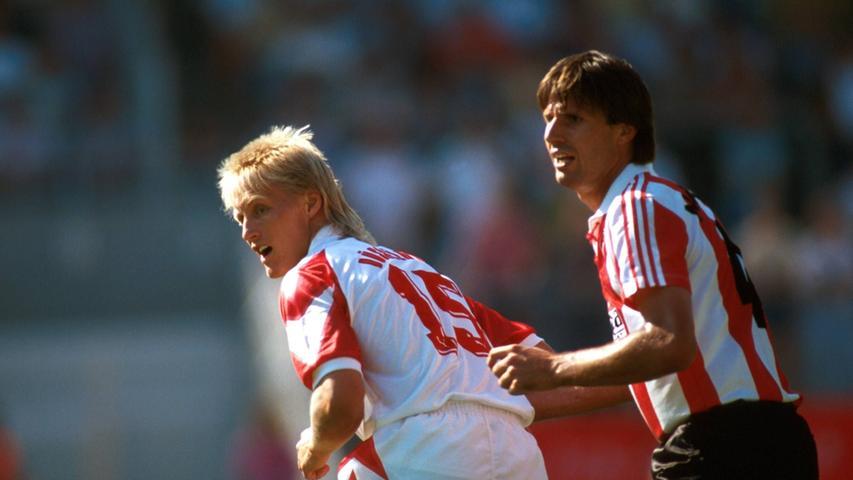 Vier Jahre lang stand Kay Friedmann für den Club auf dem Rasen. Der Innenverteidiger kam 1991 vom 1. FC Kaiserslautern an den Valznerweiher und absolvierte in seiner ersten Saison in Nürnberg gleich 37 Partien. So viel spielte der Innenverteidiger in keiner der darauffolgenden Spielzeiten mehr, wurde aber trotzdem weiterhin regelmäßig eingesetzt. Insgesamt traf der heute 56-Jährige fünfmal für den Club. Im Sommer 1995 verließ er den FCN und beendete seine Karriere.