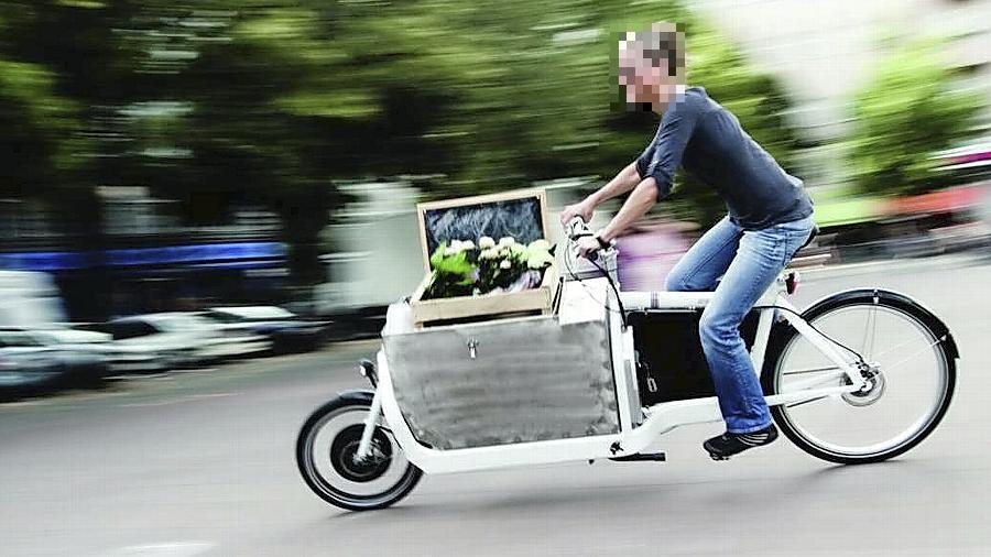 Praktisch und umweltfreundlich: Mit dem Lastenrad durch die Gemeinde.