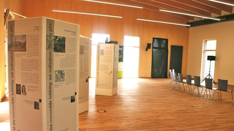 In seinen Räumen soll das Thema Nachhaltigkeit für die Besucher erlebbar werden.