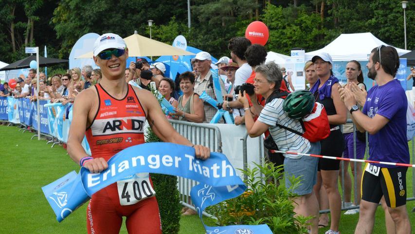24. Erlanger Triathlon brachte die Sportler zum Schwitzen