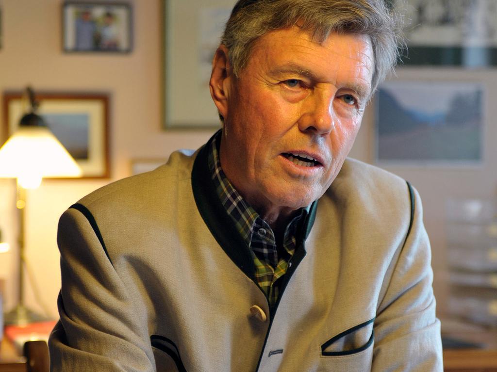 Herrieden: Hausbesuch bei MdB Josef Göppel in Herrieden. 15.5.2011. Foto:  Harald Sippel