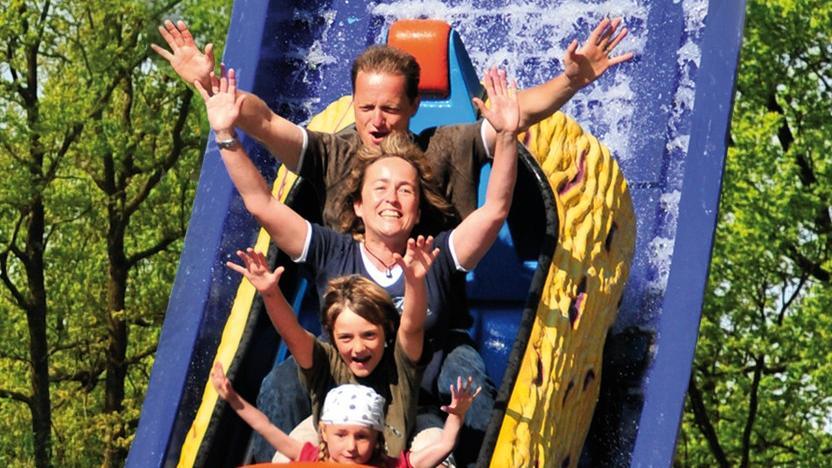Der Erlebnispark Schloss Thurnin Heroldsbach bietet Spaß für die ganze Familie.