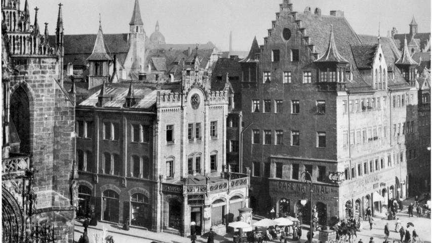Der Nürnberger Hauptmarkt im Wandel der Zeit