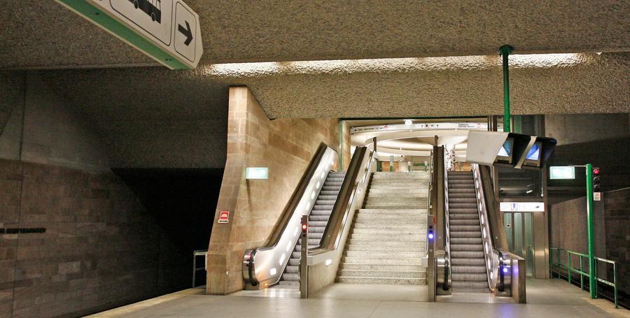 U-Bahn-Schlägerei: Verdächtige kommen frei