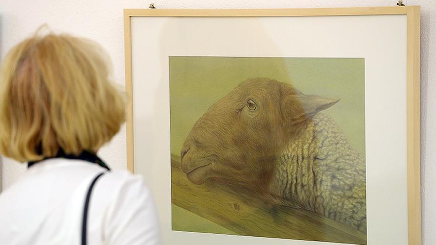 Diese eindrucksvolle Tierdarstellung beeindruckt durch viel Liebe zum Detail.
