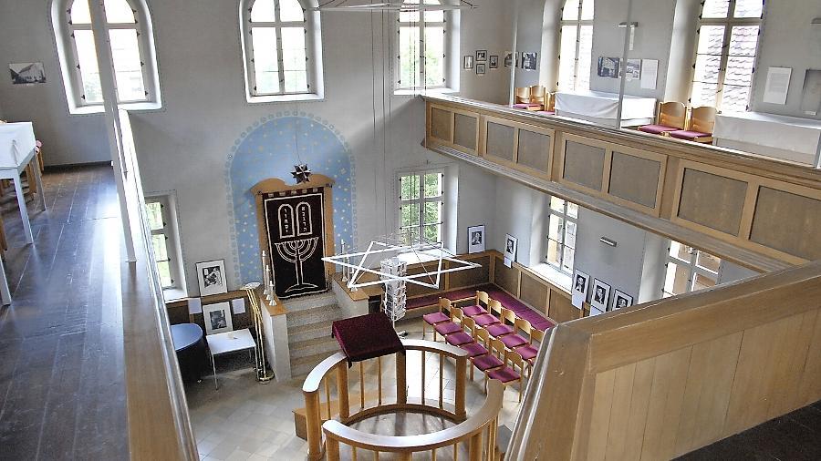 Die Synagoge ist seit 1994 restauriert und der Öffentlichkeit  zugänglich.