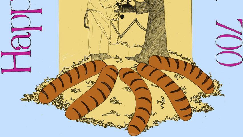 Vor rund 700 Jahren wurde die Bratwurst erstmals urkundlich erwähnt. Als