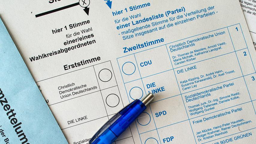 Bundestagswahl 2021: Das sind die Kandidaten im Wahlkreis Nürnberg-Süd/Schwabach