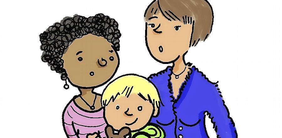 Die Nürnberger Martina Schradi greift in ihren Comics Geschichten auf, die Menschen aus ganz Deutschland erlebt haben.