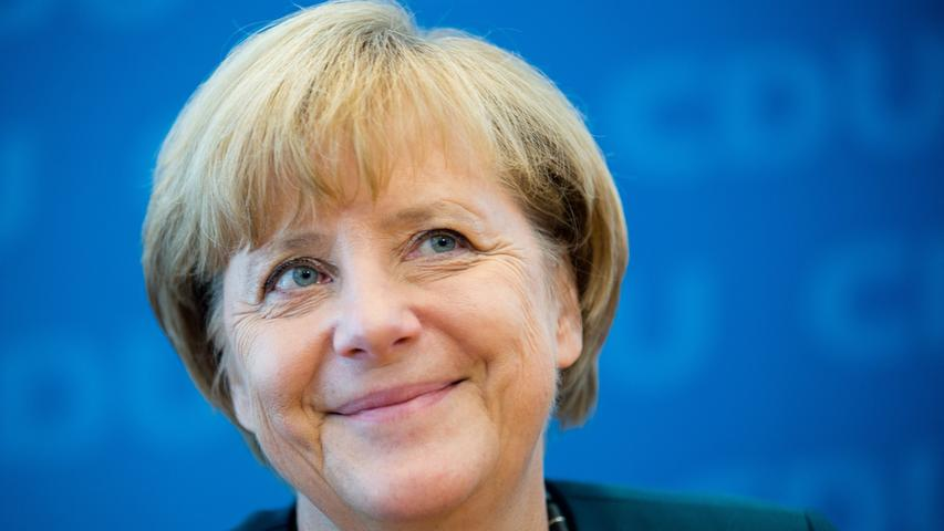 Auf dem Katholikentag in Mannheim sagte Merkel im Mai 2012:
