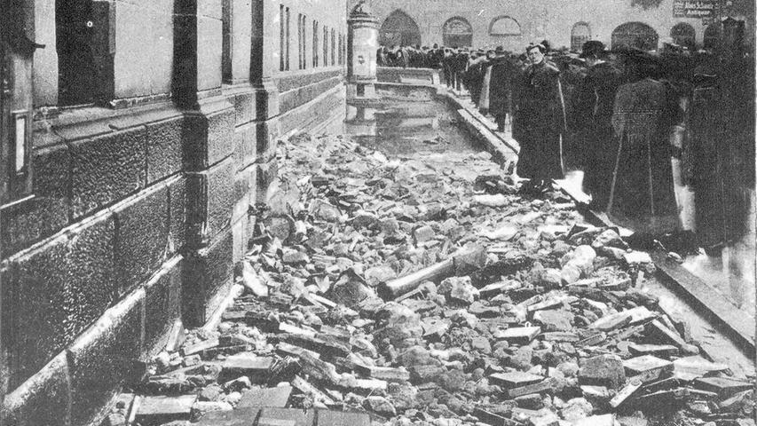 Hochwasser in Nürnberg waren keine Seltenheit: Die Stadtchronik berichtet von elf Katastrophenhochwassern, 44 große Hochwassern und 83 mittleren Hochwassern innerhalb von 600 Jahren.