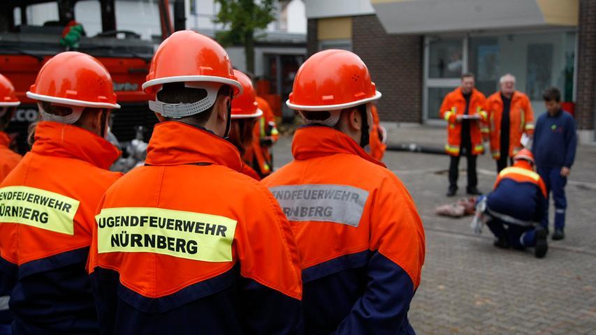 Jugendleistungsprüfung bei der Freiwilligen Feuerwehr Werderau.