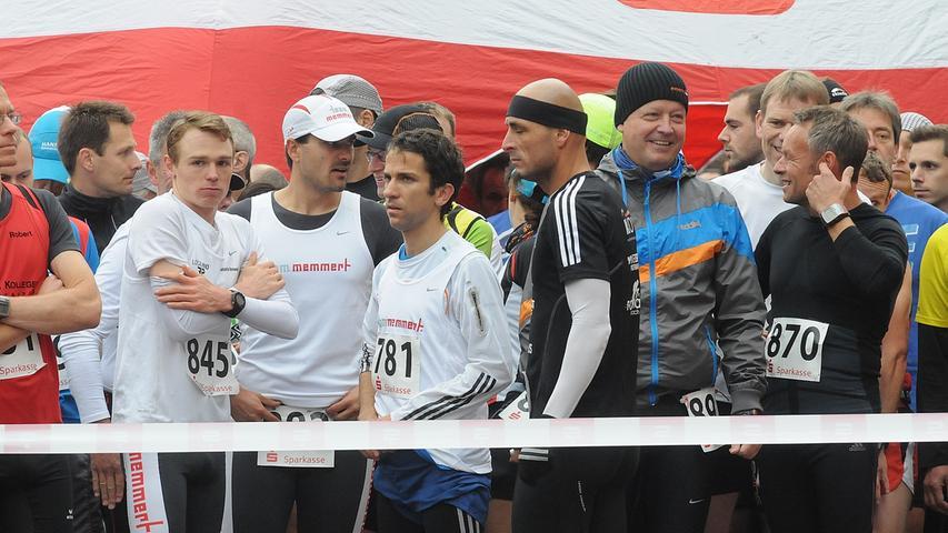 Im den beiden vergangenen Jahren entschied Sebastian Reinwand (845) den  Halbmarathon im Alleingang für sich.
